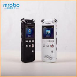 Caneta de câmera 8g on-line-Atacado-Mrobo M58 Mini Camera Caneta HD Digital Áudio Som Gravador de Voz Caneta Grabadora / Gravador De Voz Espia MP3 Player 8G Ditafone