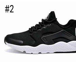 Wholesale Men Pointed Shoe - New Air Huarache 3 Running Shoes For Women & Men,Red Black High Quality Sneakers Outdoors Athletics Sports Shoes Eur 36-44
