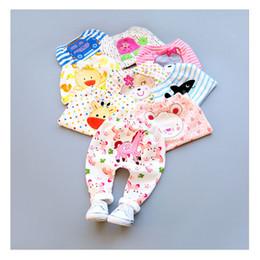 Wholesale Cartoon Leggings For Girls - New Kids Pants baby Clothing Girl Boy pp Pants Cartoon Cute Printed Leggings For Autumn Winter