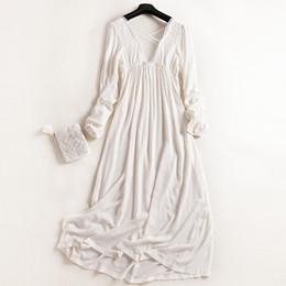 d3e4b142da Wholesale- Free Shipping 2017 New Princess Women s White Long Pyjamas Lace  Nightgown Summer Sleepwear Ladies pijamas femininos