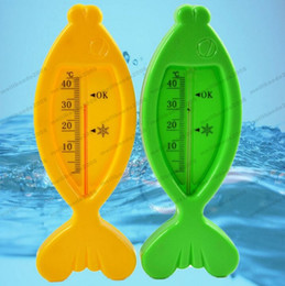 Wholesale Recorder Toy - 2017 NEW Mercury Digital Bath Toy Infant Bath Tub Water Temperature Tester Toy Fish Baby Bath Tub Water Sensor Thermometer MYY