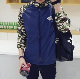 Wholesale Hot Air Drying - HOT sale Super Dry Vance Camouflage Jackets hoodie clothes hood by air men Outerwear Coats Men's women Clothing Apparel mix order