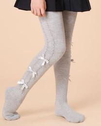 Wholesale Kids Pantyhose - 2017 New brand spring autumn girl basic pantyhose toddler girl cotton leggings kids dance sockings Free shipping