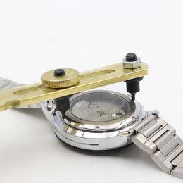Wholesale Watch Case Screw Back Opener - Adjustable Watch Screw Back Case Cover Opener Battery Replacement Tool Wrench Watch repair tools