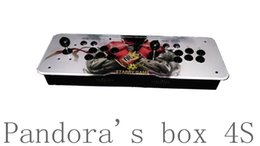Wholesale Wholesale Computer Programs - The new Pandora box 4S arcade consoles ,680 programs,HDMI VGA out,Joystick console connected to computer,Add pause and exit.