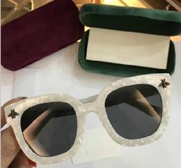 Wholesale Optical Frames Sunglasses - Hot Brand Sunglasses women bee Men G Sunglasses Designer gg0160s Sunglasses women Special Optical Frames Sun Glasses with Original case