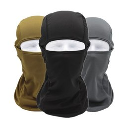 Wholesale Bike Dust Mask - Outdoor Sports Cycling Masks Motorcycle Windproof Sunscreen Dust CS Mask Riding Ski Masks Hiking Bike Bicycle Protect Full Face Mask
