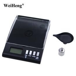 Wholesale Lab Gem - DHL 20PCS 30g x 0.001g Electronic Balance Weight Scale Digital Milligram Gram Gold Pocket Jewelry Gem Lab Scale LCD
