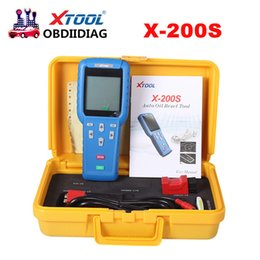 Wholesale Opel Scanner Professional - Xtool Oil Reset Tool X-200S X200S Scanner Professional OBD2 Code Scanner X200 OBDII Scanner