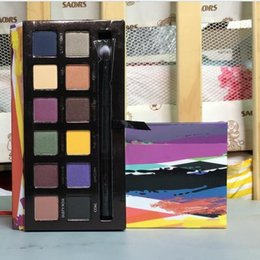 Wholesale Promotion Makeup Palette - Sales Promotion Makeup New 12 colors Eyeshadow Palette High Quality Stock Sale DHL Shipping