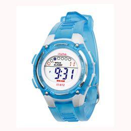 Wholesale Child Digital Watch Waterproof - Wholesale-Professtion Swimming Companion Children Boys Girls Swimming Sports Digital Waterproof Wrist Watch Free Shipping High Quality NO3