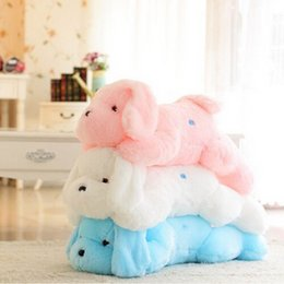 Wholesale Luminous Pillow Teddy - Wholesale- 2016 New Hot Sale 50 CM Colorful Luminous teddy dog LED Light Plush Pillow Cushion Kids Toys Stuffed Animal Doll Birthday Gift