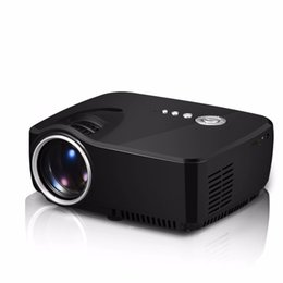 Wholesale Cheap Education Gifts - Wholesale- New Portable Projector PT-09s HDMI Home Theater Beamer Gift Projector Cheap Projector