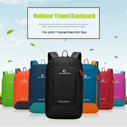 Wholesale Travel Backpack For Camping - ANMEILU 10L Ultralight Men Women's Travel Backpack Hiking Camping Backpack For Girl Boy Children Waterproof Climbing Sport Bag
