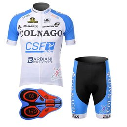 Wholesale Sportwear Set - 2017 Summer man COLNAGO team cycling jersey (bib)shorts sets Ropa de Ciclismo 9D GEL Pad  Breathable Quick-Dry Bicycle Sportwear A137