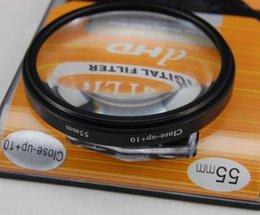Wholesale Close Up 55mm - High quality GODOX 55mm Macro Close-Up +10 Camera Lens Filter for SLR Digital Camera