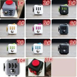 Wholesale Popular Science - Fidget cube New Popular Decompression Toy Fidget cube the world's first American decompression anxiety Toys DHL FREE