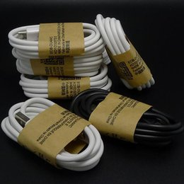 Wholesale S4 Piece - S5 Cable Micro USB Charger Cable S4 Cables 3.0 Sync Data Wire 1M 3FT 500 Pieces For Samsung Note2 S3 NOTE4 3 HTC M8 Huawei Lenovo Blackberry