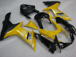Wholesale Gsxr Black Yellow - ABS Fairing for Suzuki GSXR600 2012 Fairing Kits GSXR 750 13 14 Yellow Black Full Body Kits GSX R600 11 12 2011 - 2014 K11