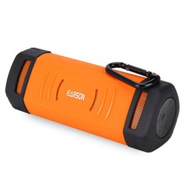 Wholesale Wireless Computer For Bicycle - EARSON ER160 Wireless Bluetooth Stereo Speaker Portable Handsfree Multifunctional Sport Speakers Support TF Card AUX For Bicycle