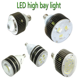 Wholesale white light canopy - UL DLC E27 E40 Hook LED High Bay Light CREE 50W 100W 120W 150W 200W 300W 400W Gas Station Canopy Lights AC 110-277V