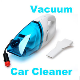 Wholesale Hold 12v - Vaccum Cleaners Portable Super Suction 12V High Power Wet and Dry Mini Handheld Car Vacuum Cleaner #taobao222#