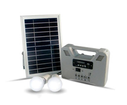 Wholesale Led Emergency Cheap - cheap solar powered energy saving solar emergency light solar home system 2 bulbs with radio function