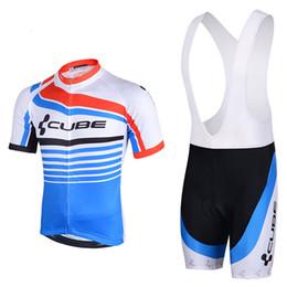 Wholesale Racing Bike Cube - 2015 CUBE Pro team Cycling Jersey Bicycle Cycling Clothing  Cycling Clothes Wear Ropa Ciclismo Sportswear Mans Racing Mountain Bike 1517