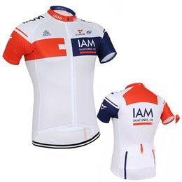 Wholesale Uci Cycling - 3 colors 2017 UCI Team I AM cycling jersey 100% polyester quick dry Ropa Ciclismo MTB bike shirts summer cycling wear
