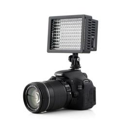 Wholesale Led Lighting Video - 160 LED Video Light Lamp Panel Dimmable for DSLR Camera DV Camcorder led flashi heads light