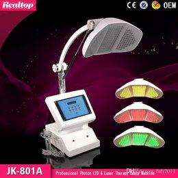 Wholesale Professional Skin Care Machines - Professional Photon skin rejuvenation led pdt skin care face whitening facial spa light therapy beauty machine 3 colors light