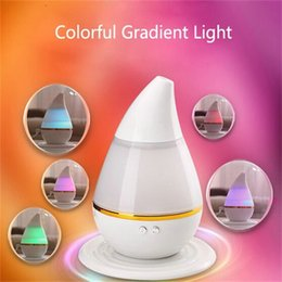 Wholesale Cheap Mini Humidifiers - Colorful LED Light Aroma Diffuser USB Air Humidifier Mini Oil Diffuser Mist Maker Fogger For Car Home Office Wholesale Cheap DHL Fast