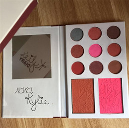 Wholesale Valentines Wear - Kylie Diary Eyeshadow VALENTINES DIARY Eye shadow & Blush Palette kylie valentines collection comestic kyshadow 11 Colors