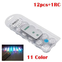 Wholesale Underwater Led Tea Lights - Umlight1688 LED Submersible Tea Light Candles with Remote Control Replaceable Battery Underwater Waterproof Lamp for Christmas Birthday