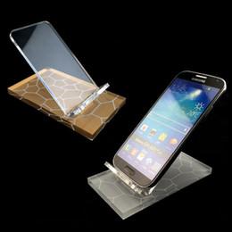 iphone preços móveis Desconto Acrílico display stand celular telefone móvel monta titular para o iphone 5 5s 6 6 s htc HTC htc samsung huawei a bom preço