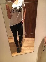 Wholesale Girls Black White Shirts - VS Love Pink Women T Shirts Tumblr Kyliejenner Bts Feminist Punk Harajuku Fashion Summer Sport Casual Tee Tops Teen Girls Clothing Plus Size