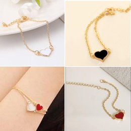 Wholesale Good Quality Factory Price - Jewelry Sale Good Quality 3 Colors Heart Bracelet For Woman 2016 New bracelets & bangles factory Price HOT SL01