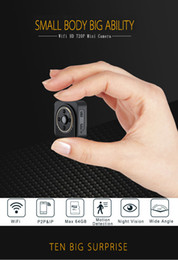 Wholesale Indoor Outdoor Ip Camera - WiFi IP Camera 720P HD Wireless Mini Spy Cameras Indoor Outdoor Mini DV Night Vision Hidden Video Recorder Home Security Surveillance Cam