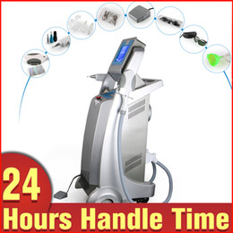 Wholesale Laser Hair Removal Equipment - Newest 3in1 IPL RF Fast Hair Removal Q-Switched ND Yag Laser Tattoo Removal Body Rejuvenation Skin Whiten E-light Beauty Equipment