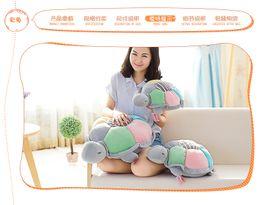 Wholesale Plush Sea - 2017NEWMetoo toys sea animals lying pillow turtles plush soft pillow doll soft toys sesame street Christmas gifts