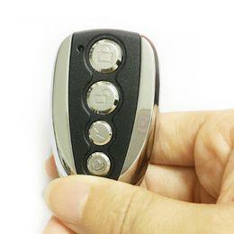 Wholesale Electronic Door Keys - Wholesale- Universal Lock Key Remote Control 433.92MHZ Remote Cloning 4 Channel Car Garage Door Duplicator Rolling Code Electronic Gates