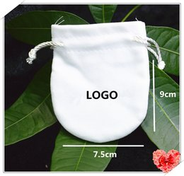 Wholesale Fine Packages - 2017 white Jewelry Pouches Fit Pandora Charms&Beads Women DIY Jewelry Packaging Gifts Bags For Charms Bracelets Fine Jewelry