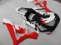cbr929rr schwarze verkleidung kit Rabatt Spritzgegossenes meistverkauftes Verkleidungsset für Honda CBR900RR 00 01 weiß rot schwarz Verkleidungsset CBR929RR 2000 2001 OT32