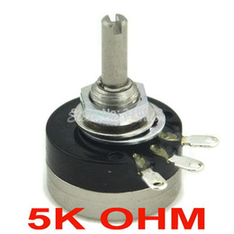 Wholesale 5k Potentiometer - Wholesale- RV16YN 15S B502 COSMOS TOCOS 5K OHM Industrial Panel Controls Rotary Potentiometer.