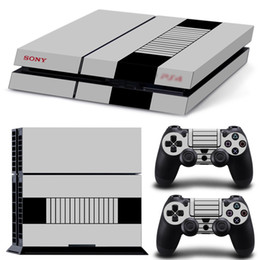 Wholesale Ps4 New Console - NEW Fashio COOL291 DECAL SKIN PROTECTIVE STICKER for SONY PS4 CONSOLE CONTROLLER