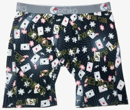 Wholesale Poker Fashion - Ethika Men's Staple underwear poker sports hip hop rock excise underwear skateboard street fashion streched legging quick dry