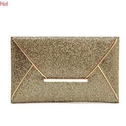Wholesale Elegant Phone Cover - Wholesale-Top Hot Elegant OL Womens Sequins Envelope Bag Evening Party Purse Clutch Handbag Black Gift Metal Shining Ladies Bags LP000744