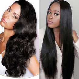 Wholesale Weaves Hair Piece Prices - Straight Brazilian Hair Body Wave Virgin Human Hair Weave Bundles 100%Unprocessed Wet and Wavy Hair Extensions Wholesale Price Natural Color
