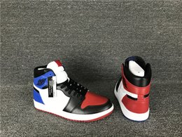 Wholesale Top High Cut Shoe Brands - Discount Air Retro 1 High OG Top 3 men basketball shoes sports shoes trainers brand sneakers wholesale with box free shipping size 7-13