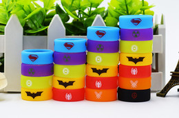 Wholesale Super Man Baby - custom vape band wide silicone ring 26mm with batman super man for ecig tank tfv8 tfv12 tfv8 big baby ijusts cleito120 reload rda